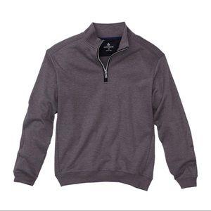 RAINFOREST $89 Heather Knit Quarter Zip Pullover